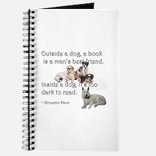 Outside a Dog Journal