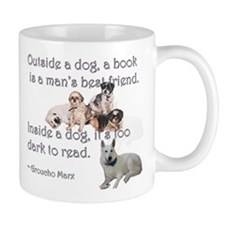 Outside a Dog Mug