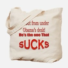 Funny Obama Sucks Tote Bag