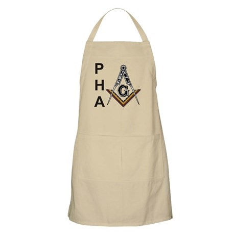 Prince Hall Square and Compass Apron