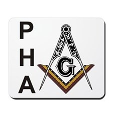 Prince Hall Square and Compass Mousepad