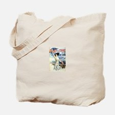 Vintage WWII Poster Tote Bag