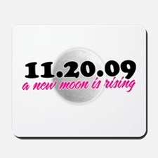 a new moon is rising Mousepad