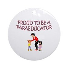 Cute School houses Ornament (Round)