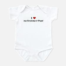 I Love my Grammy & Pops! Infant Bodysuit
