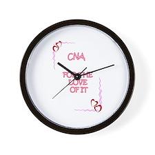 Cool Cna Wall Clock