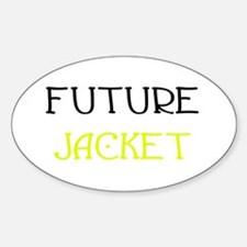 Future Jacket Oval Decal