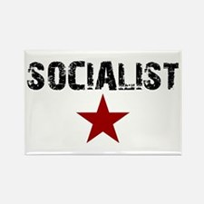 Unique Socialism Rectangle Magnet