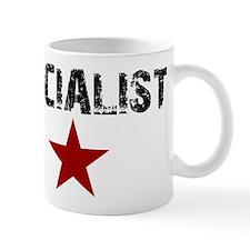 3-socialistpng Mugs