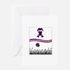 Cute End domestic violence Greeting Card