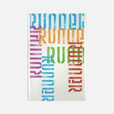 Run Off Variety Rectangle Magnet