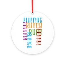 Run Off Variety Ornament (Round)