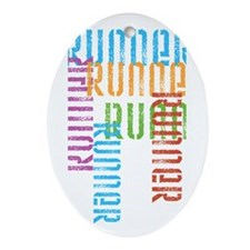 Run Off Variety Oval Ornament
