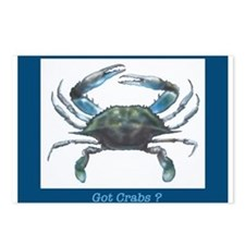 Cute Crab Postcards (Package of 8)