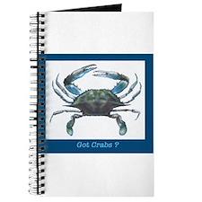 Unique Blue crab Journal