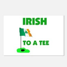 IRISH UP TO PAR Postcards (Package of 8)