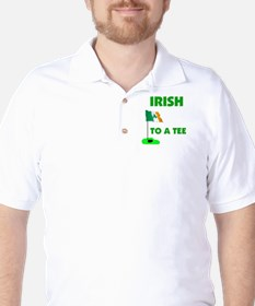 IRISH UP TO PAR Golf Shirt