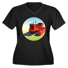 Chalmers grandpa agriculture Women's Plus Size V-Neck Dark T-Shirt