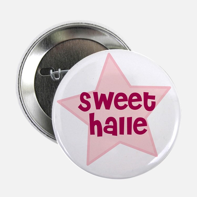 """Sweet Halle 2.25"""" Button (10 pack)"""