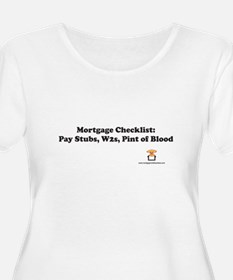 Mortgage Checklist: Pint of Blood T-Shirt