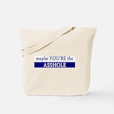 Asshole Tote Bag
