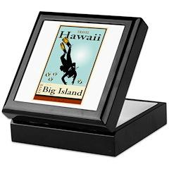 Travel Hawaii Keepsake Box