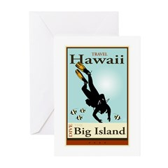 Travel Hawaii Greeting Cards (Pk of 20)