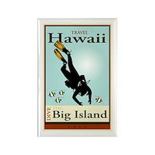 Travel Hawaii Rectangle Magnet