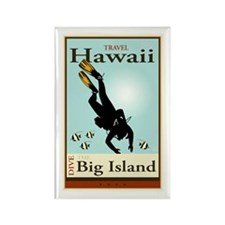 Travel Hawaii Rectangle Magnet (10 pack)