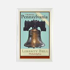 Travel Pennsylvania Rectangle Magnet