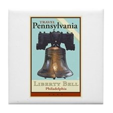 Travel Pennsylvania Tile Coaster