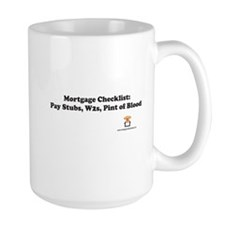 Mortgage Checklist...Blood Mug