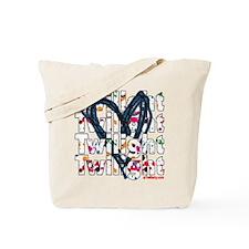 Twilight Heart Splatters Tote Bag