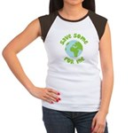 Save Some (Planet Earth) For Me Women's Cap Sleeve