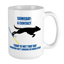 Large No Contacts Mug