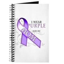I Wear Purple for My Mom Journal