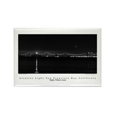 SF Bay Gifts! Alcatraz Lighthouse at Night Magnet