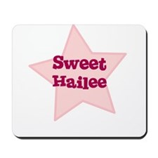 Sweet Hailee Mousepad