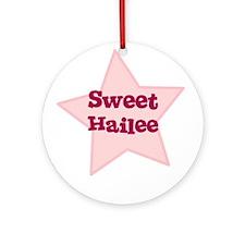 Sweet Hailee Ornament (Round)
