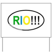 RIO!!! Yard Sign
