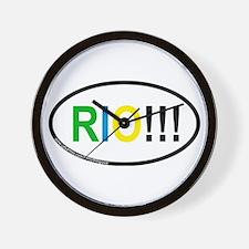 RIO!!! Wall Clock