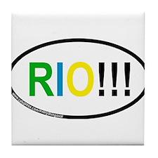 RIO!!! Tile Coaster