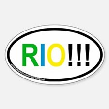 RIO!!! Oval Decal