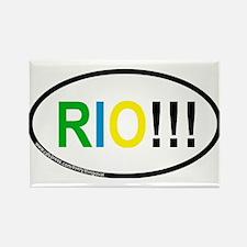 RIO!!! Rectangle Magnet