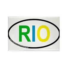 RIO Rectangle Magnet (10 pack)