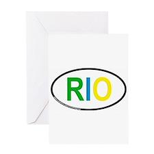 Cute Rio de janeiro Greeting Card