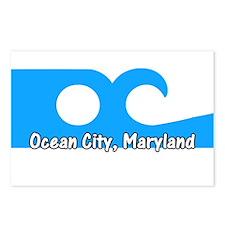 Ocean City Flag Postcards (Package of 8)