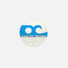 Ocean City Flag Mini Button (100 pack)