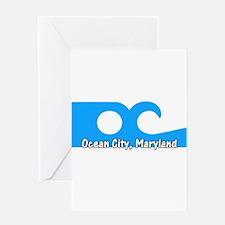 Ocean City Flag Greeting Card
