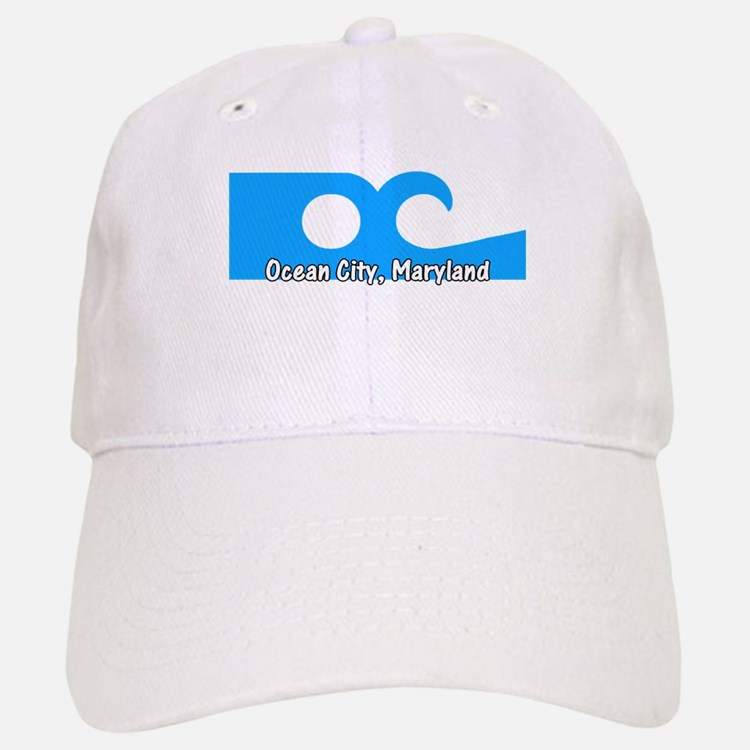 Ocean City Flag Baseball Baseball Cap
